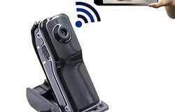 WIFI Wireless Security Camera Camcorder Mini Video Home Camera Untuk Orang Tua Dan Kanak-kanak - 1 250px