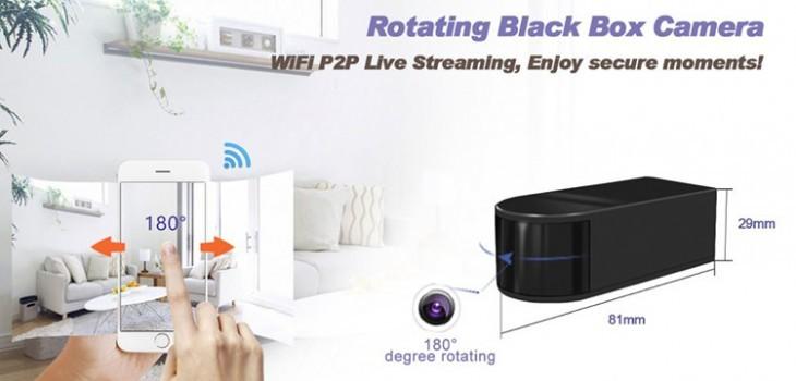 HD 1080P Mini Black Box WiFi Camera - 1