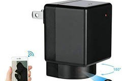 WIFI Camera Charger, Camera 180 Degree Rotation, WIFI, P2P, IP, 1080P, H.264 - 1 250px