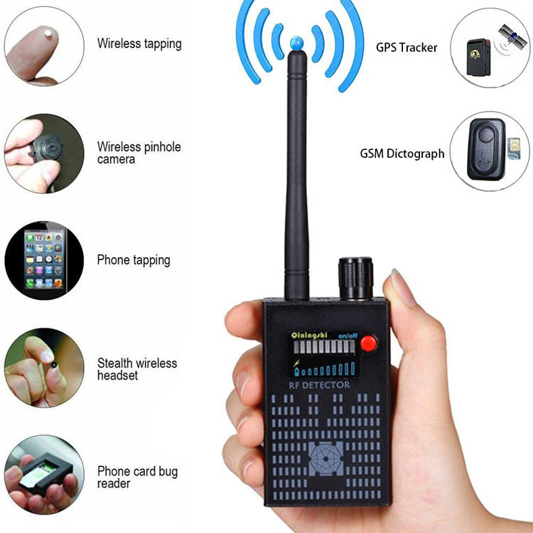 Versteekte Anti-Spy Camera Bug Detector (SPY999) - S $ 198