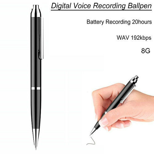 HD Pen Voice Recorder, inspelningstid 20hours, 8G - 1