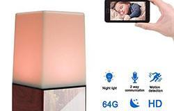 WIFI Color Light Camera DVR, HD1080P, H.264, 3500mAh batai, Auala e Lua - Talk 8 250px