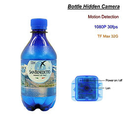 Camera Bottle Hidden, Motion Detection (SPY185)
