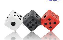Mini Camera Dice, Motion Detection, 1080P 30fps, Nightvision, SD Card Max 32G - 1 250px
