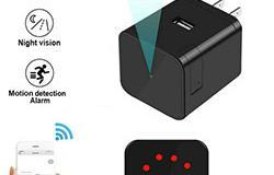 Ceamara Super Nightvision WIFI Charger Camera, 1080P, Ceamara céim 120, Super Nightvision - 1 250px