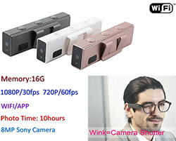 WIFI Mini Wink Camera, HD1080P / 720P (SPY183) - S $ 248