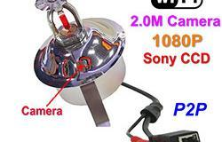 WIFI, IP Fire Sprinkler Kamera, 2.0MP Kamera, POE, Audio, Sony CCD, 1080P - 1 250px