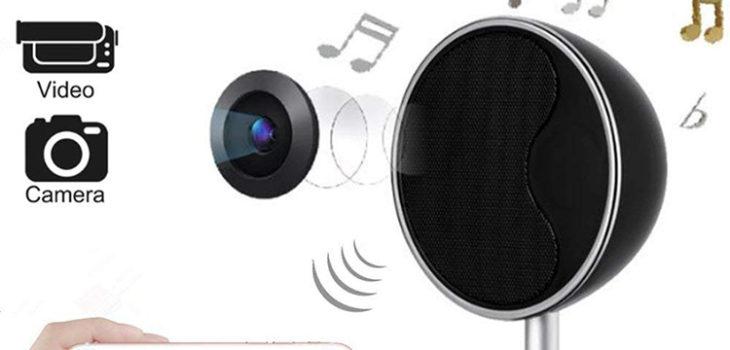 1080P WIFI Bluetooth Speakers Hidden Spy Camera - 1