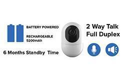 6月待機バッテリー駆動の隠しスパイカメラ無線IPカメラ -  1 250px