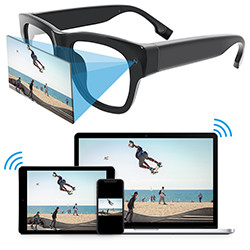 Eyeglasses WiFi Camera IP Security (SPY212)