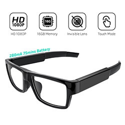 Ceamara Hidden Eyeglasses HD1080P (SPY211)