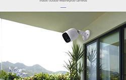Akıllı Pil Kablosuz Gizli Açık Kapalı Mini CCTV - 1 250px