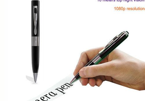 Starlight Night Vision Pen Camera, Super Nightvision, HD1080P, TF Max 128G - 1
