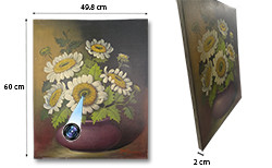 Girasole Oil Paint Spy Camera Oculu, scaricato 70hrs, 100hrs standby (SPY232F)