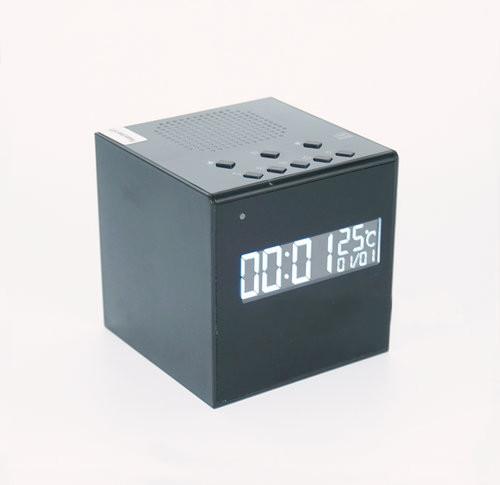 Bluetooth Speaker Clock WIFI Camera, Super Nightvision - 2