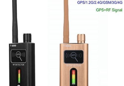 GPS SPY Camera RF Dual Signal Detector, Range 1-8000MHz, Distance 5-8m - 1