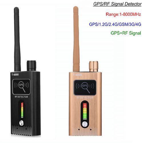 Detektor podwójnego sygnału GPS SPY Camera RF, zasięg 1-8000MHz, odległość 5-8m - 1