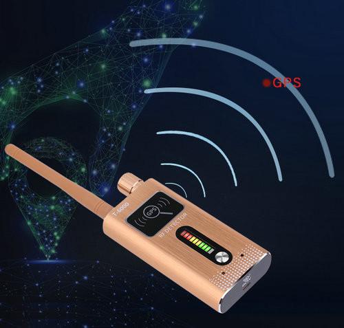 GPS SPY Camera RF երկակի ազդանշանի դետեկտոր, Range 1-8000MHz, հեռավորությունը 5-8m - 3