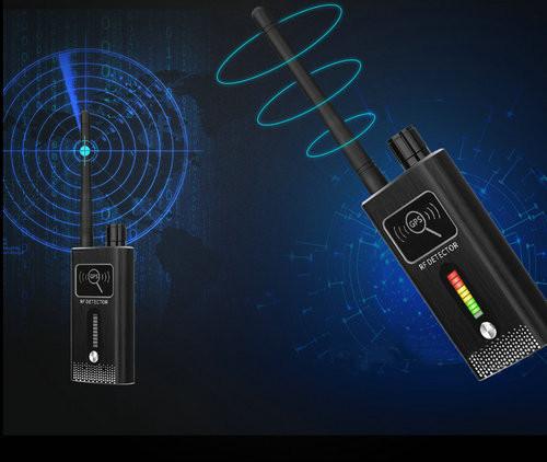 GPS SPY Camera RF երկակի ազդանշանի դետեկտոր, Range 1-8000MHz, հեռավորությունը 5-8m - 6
