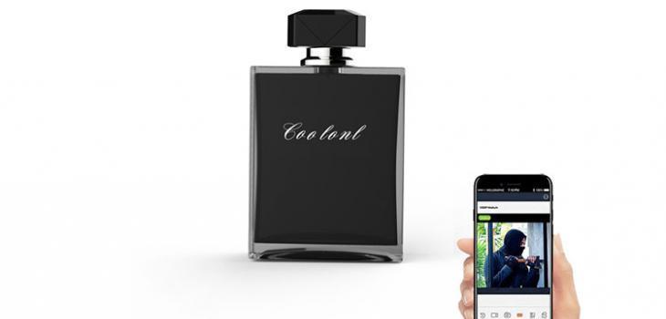 Perfume Bottle Hidden Spy Camera - 1