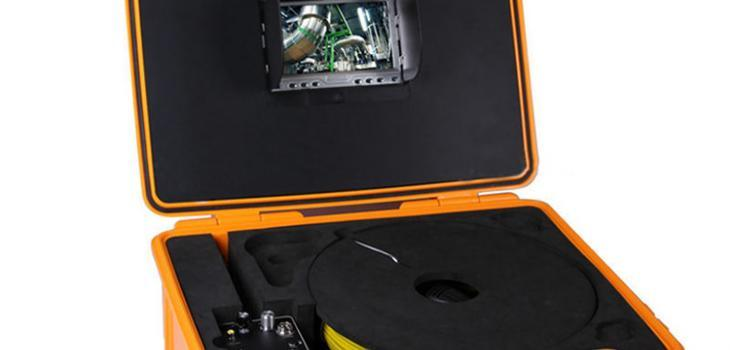 Pipe Inspection Camera with 7'' Digital LCD screen - 1
