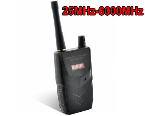 Professional SPY Camera Bug RF Detector, 20-6000MHz, distance up to 30m - 2