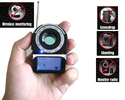 SPY Camera Detector - SignalLens Detector, Range 1-650 - 2