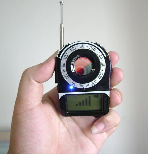 SPY Camera Detector - SignalLens Detector, Range 1-650 - 6