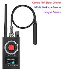스파이 카메라 버그 검출기 - 신호 / 렌즈 / 자석 검출기 (SPY995)
