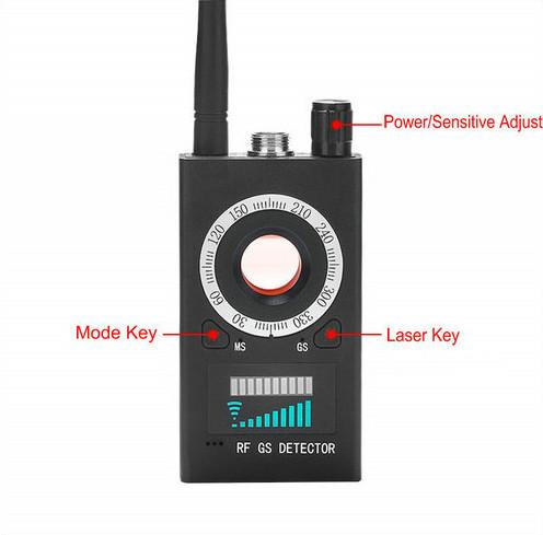 स्पायक्समॅक्स - स्पाय कॅमेरा डिटेक्टर - सिग्नल-लेन्स-मॅग्नेट डिटेक्टर - 995