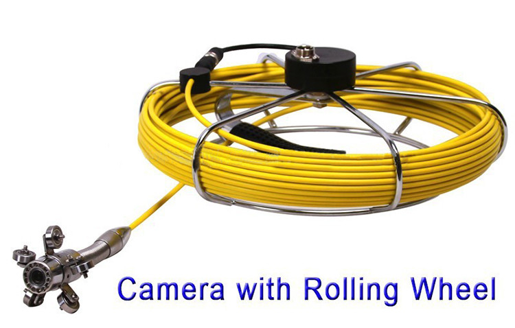 Waterproof Pipe Inspection Camera with 20m Fiber Glass cable - 4