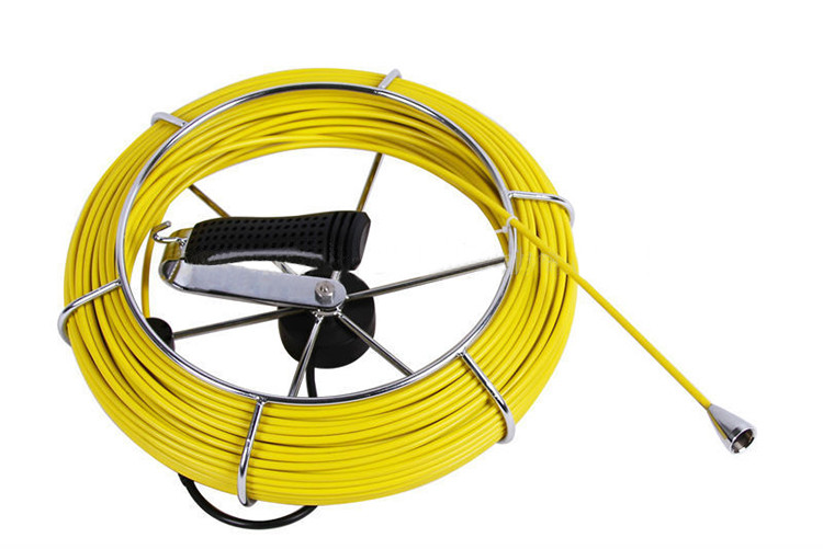 Waterproof Pipe Inspection Camera with 20m Fiber Glass cable - 5
