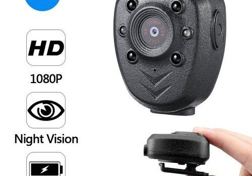 Clip Camera DVR, Super Nightvision, Battery Rec 4hours, Build in 16G - 1