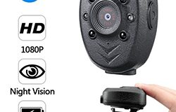 Clip Camera DVR, Super Nightvision, Battery Rec 4hours, Build in 32G - 1 250px
