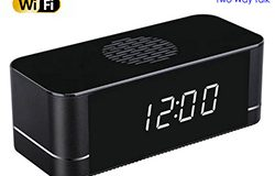 4K WIFI Camera Clock, Built Speaker Bi Way Talk, 3000mAh Battery - 1 250px