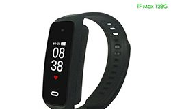 Ceamara Hidden Wristband Spy, TF Max 128G, Rec Time Battery 90min - 1 250px