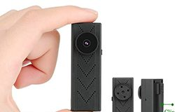4K WIFI Button Clip Camera 4K2K1080P, SD Kaart Max 128GB, Battery 60min - 1 250px