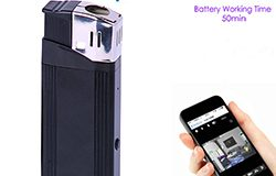 WIFI Lighter SPY HIdden Camera, HD1080P, 1.3M Camera, 50min - 1 250px
