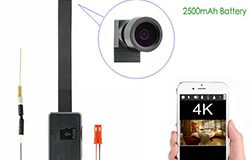 4K WIFI Camera Module, External 2500 mAh battery, TF Max 128G - 1 250px