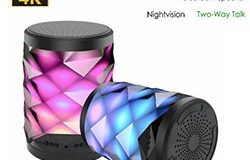 4K WIFI Bluetooth Speaker Lamp Camera amb conversa bidireccional - 1 250px