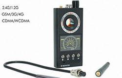 Detektor wielofunkcyjny, sygnał radiowy, telefon komórkowy, obiektyw aparatu, wykrywacz magnesów - 1 250px
