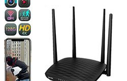 SPY296 - 4K WiFi রাউটার ক্যামেরা, এইচডি 4K2K, হিজিলিকন 3518E, 2.0MP Camea, TF সর্বোচ্চ 128G 01 250x