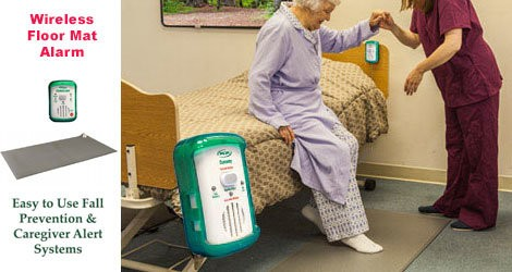 OMG Solutions - Elderly Fall Prevention: Wireless Floor Mat Alarms for Home