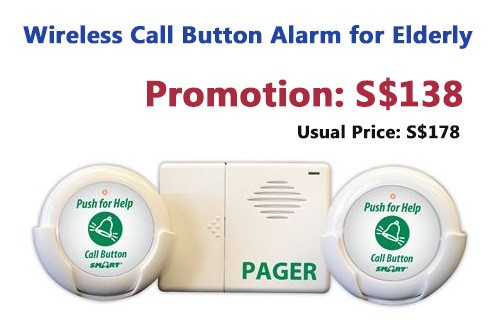 Promotion: Wireless Call Button Alarm for Home Elderly