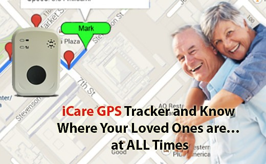 Dementia / Elderly GPS Monitoring & Fall Detection Alarm