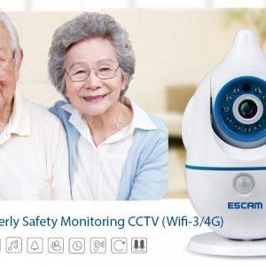 EA058 - WIFI Remotely Alert Emergency SOS Panic Button Alarm (Monitor Elderly / Handicap Anywhere)