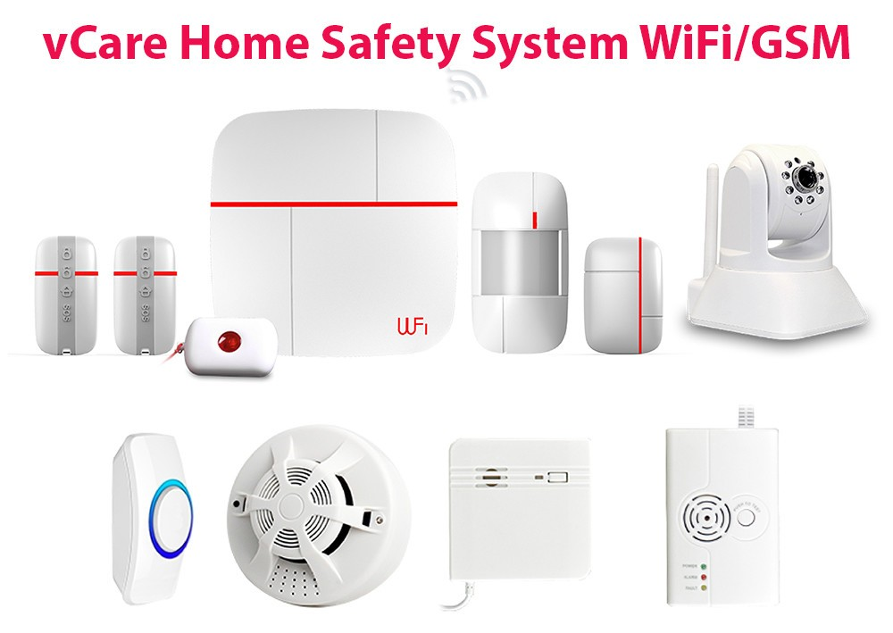 vCare Smart Home System Security WiFiGSM 3