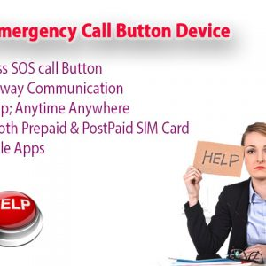 EA037 - OMG Wireless Emergency Panic Call Button with Wearable Button for Home/Personal (3 call buttons + 3 receivers)