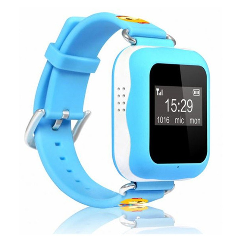 GPS Tracker Watch for Kids - Vandtæt (GPS02W)