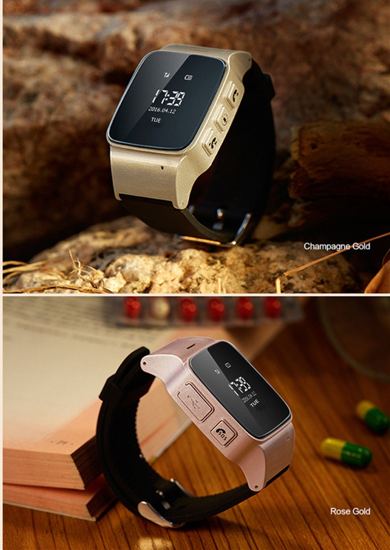 GPS Watch for Tracking / Locating Elderly